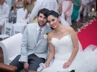 El matrimonio de Vanessa y Manuel