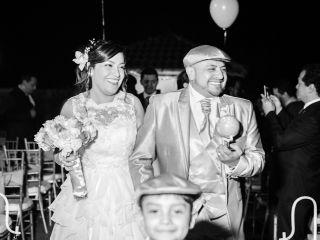 El matrimonio de Martha y Álvaro
