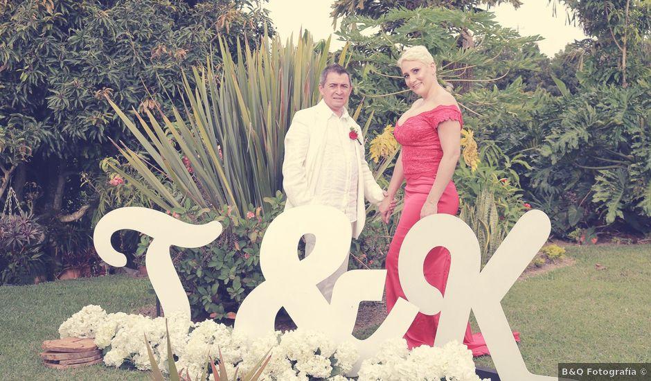 El matrimonio de John y Katherine en Pereira, Risaralda