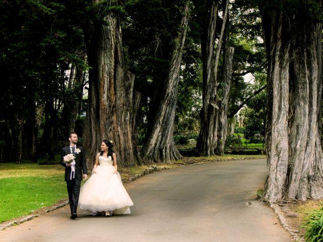 El matrimonio de Charles y Paula en Bogotá, Bogotá DC 4