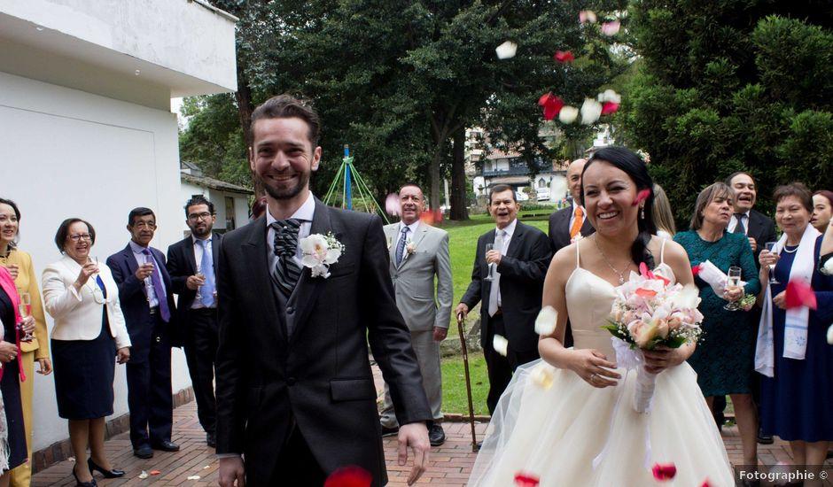 El matrimonio de Charles y Paula en Bogotá, Bogotá DC