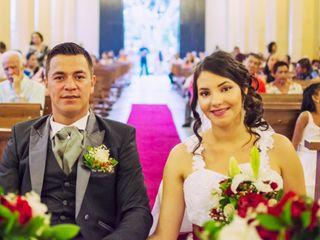 El matrimonio de Geraldine y Dumar