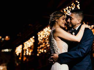 El matrimonio de Ivon y Andrés