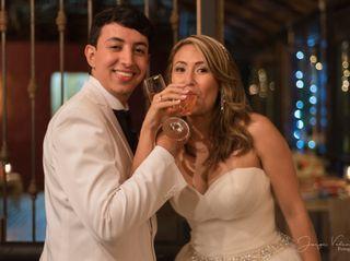 El matrimonio de Janneth  y Sebastián