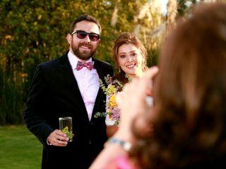 El matrimonio de Samy y Albarra