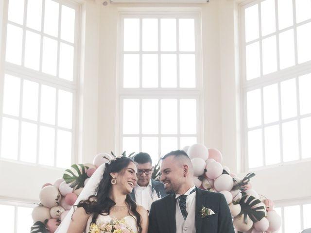 El matrimonio de Stiven y Daniela en Guarne, Antioquia 30