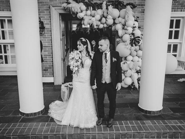El matrimonio de Stiven y Daniela en Guarne, Antioquia 42