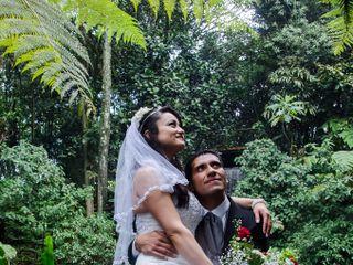 El matrimonio de Diana y Raúl