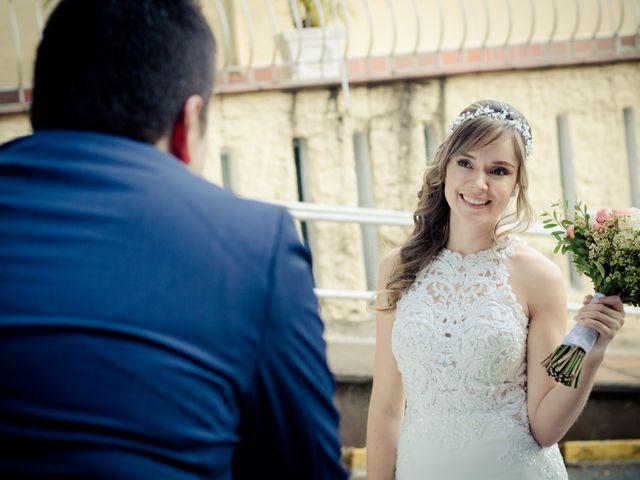 El matrimonio de Viviana y José