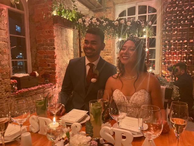El matrimonio de Camila y Vítor