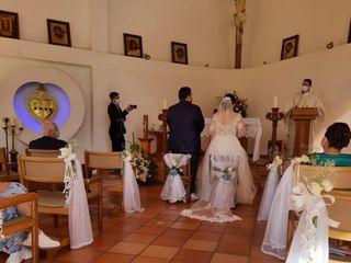 El matrimonio de Angélica   y Andrés   3