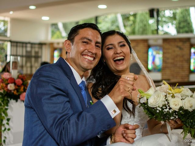 El matrimonio de Angie y Edwin