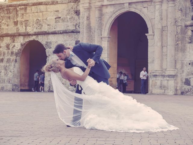 El matrimonio de Jamie y Andrea en Cartagena, Bolívar 13