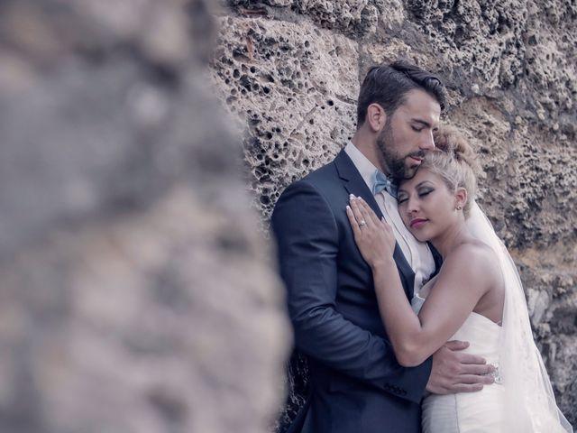 El matrimonio de Jamie y Andrea en Cartagena, Bolívar 14