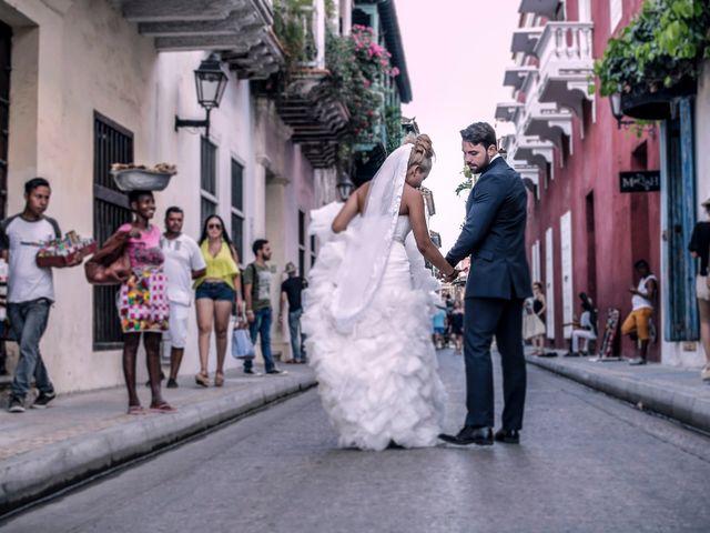 El matrimonio de Jamie y Andrea en Cartagena, Bolívar 17