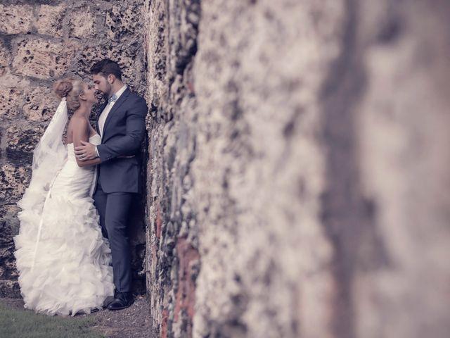 El matrimonio de Jamie y Andrea en Cartagena, Bolívar 19