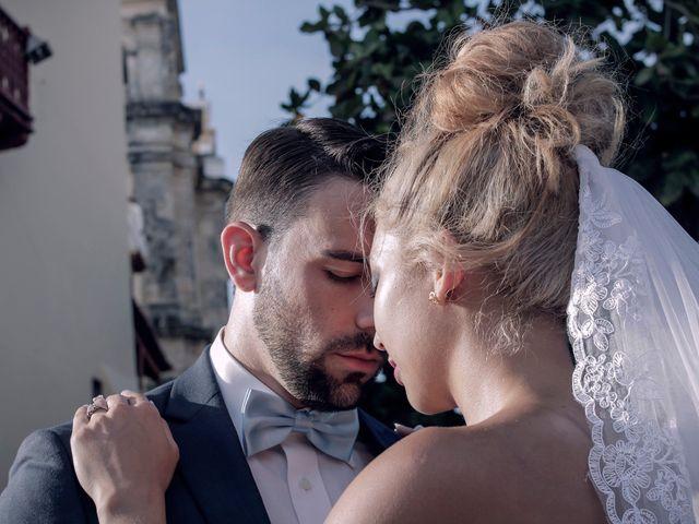 El matrimonio de Jamie y Andrea en Cartagena, Bolívar 23