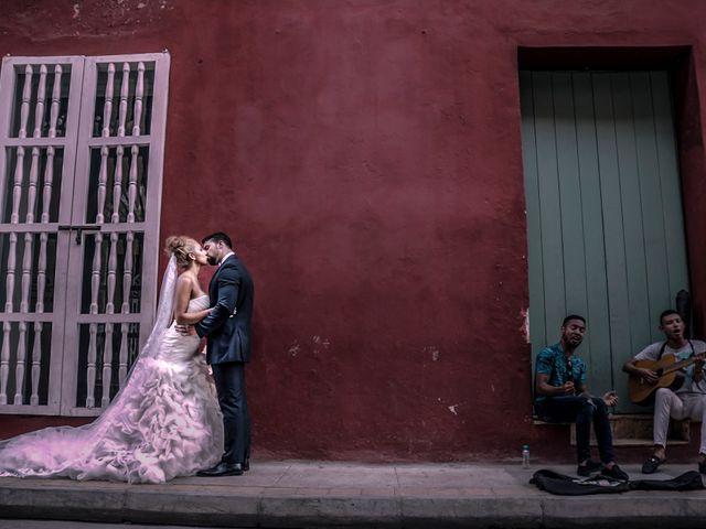 El matrimonio de Jamie y Andrea en Cartagena, Bolívar 12
