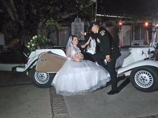 El matrimonio de Nathali y Franklin