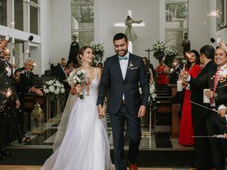 El matrimonio de María Alejandra y Mauricio