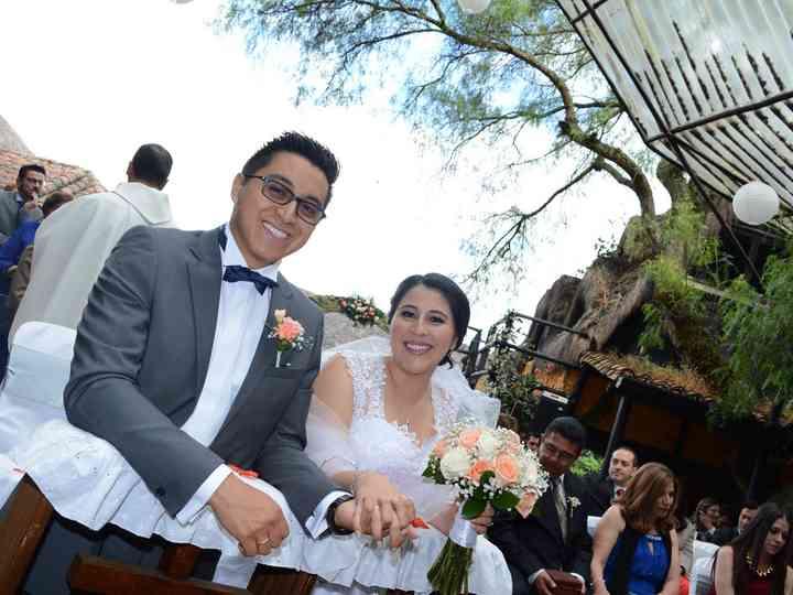 El matrimonio de Adriana y William