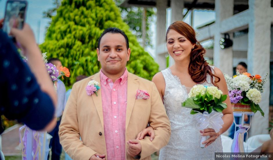 El matrimonio de Nofal y Lina en Villavicencio, Meta