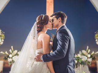 El matrimonio de Sara y Gustavo 1