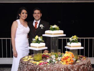 El matrimonio de Andrea   y Andres