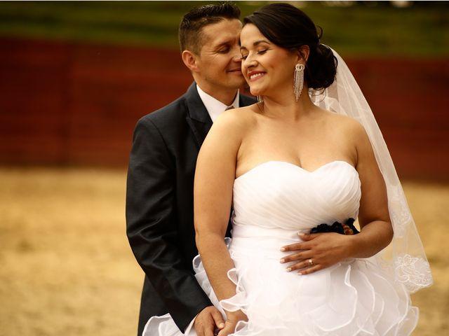 El matrimonio de Sandra y Javier