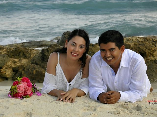 El matrimonio de Alexandra y Juan David