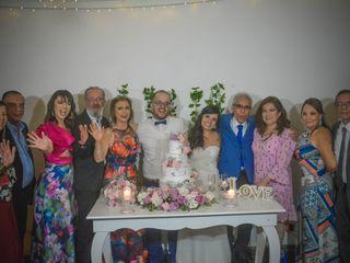 El matrimonio de María Fernanda  y Daniel