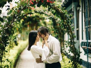 El matrimonio de Carolina y Seth 1