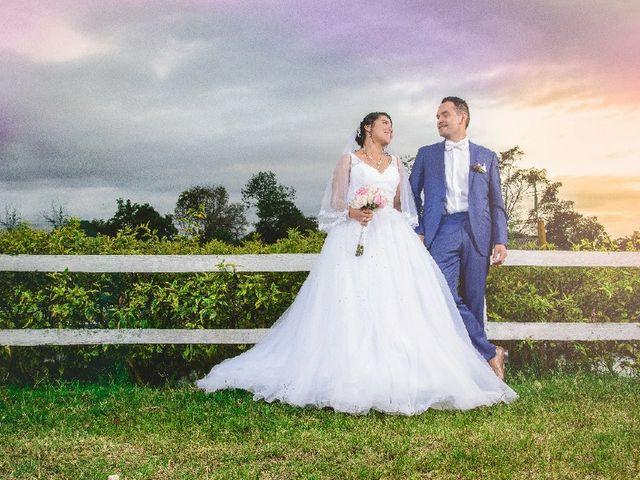 El matrimonio de Sahoury y Alejandro
