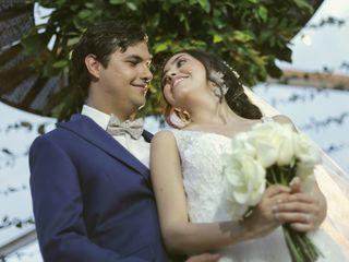 El matrimonio de Daniela y Julian