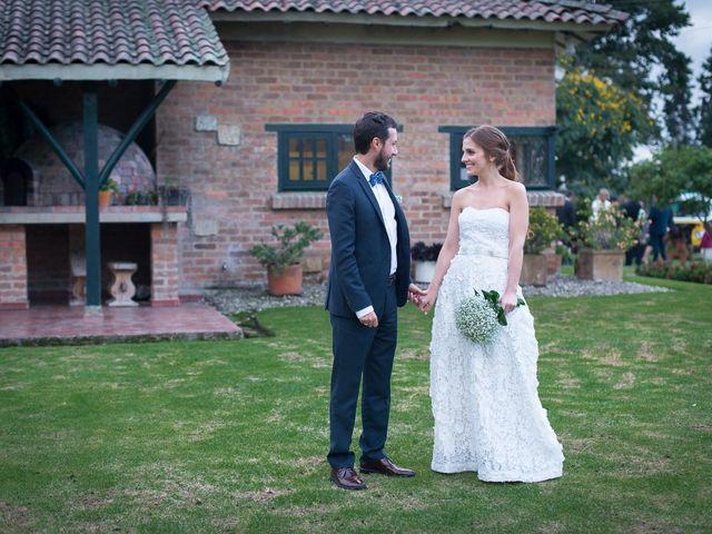 El matrimonio de Carlos y Estefania en Chía, Cundinamarca 34