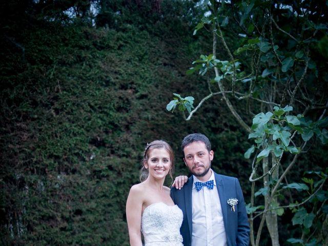 El matrimonio de Carlos y Estefania en Chía, Cundinamarca 40