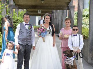 El matrimonio de Angela y Andrés 1