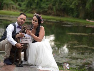El matrimonio de Angela y Andrés