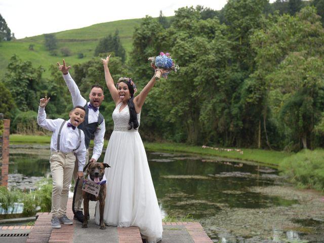 El matrimonio de Andrés y Angela en Manizales, Caldas 1