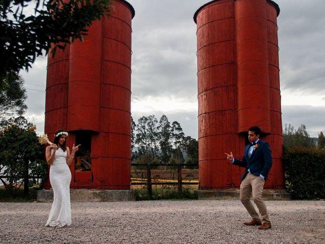 El matrimonio de Jhon y Carol en Chía, Cundinamarca 36