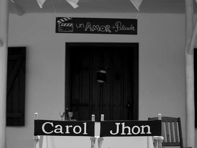 El matrimonio de Jhon y Carol en Chía, Cundinamarca 43