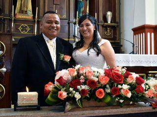 El matrimonio de Luz Helena y León Dario