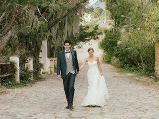 El matrimonio de Sandra y Manuel