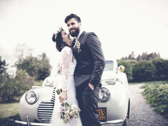 El matrimonio de Maria Fernanda y Gustavo
