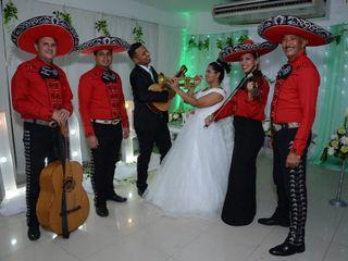 El matrimonio de Rebeca  y Vidal  3