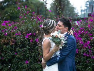 El matrimonio de Lorena y Ricardo