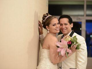 El matrimonio de Annie y Luis
