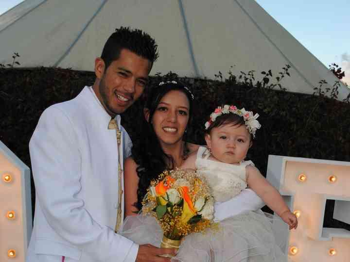 El matrimonio de Kathe y Leo