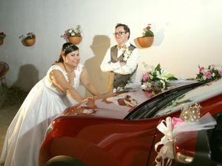 El matrimonio de Diana y Efrén