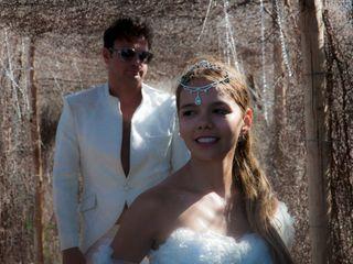 El matrimonio de Karina y Frank